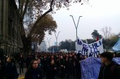 Marcha estudiantes de Liceos de Providencia 24 de mayo 2017