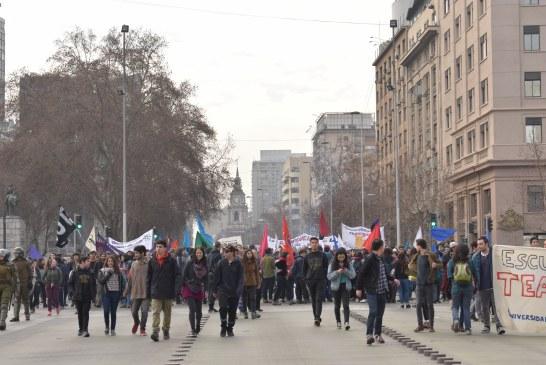 25 de agosto: Marcha Universidad de Chile