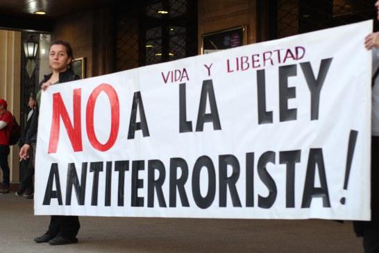 Jornada de protesta en apoyo a los presos políticos mapuche