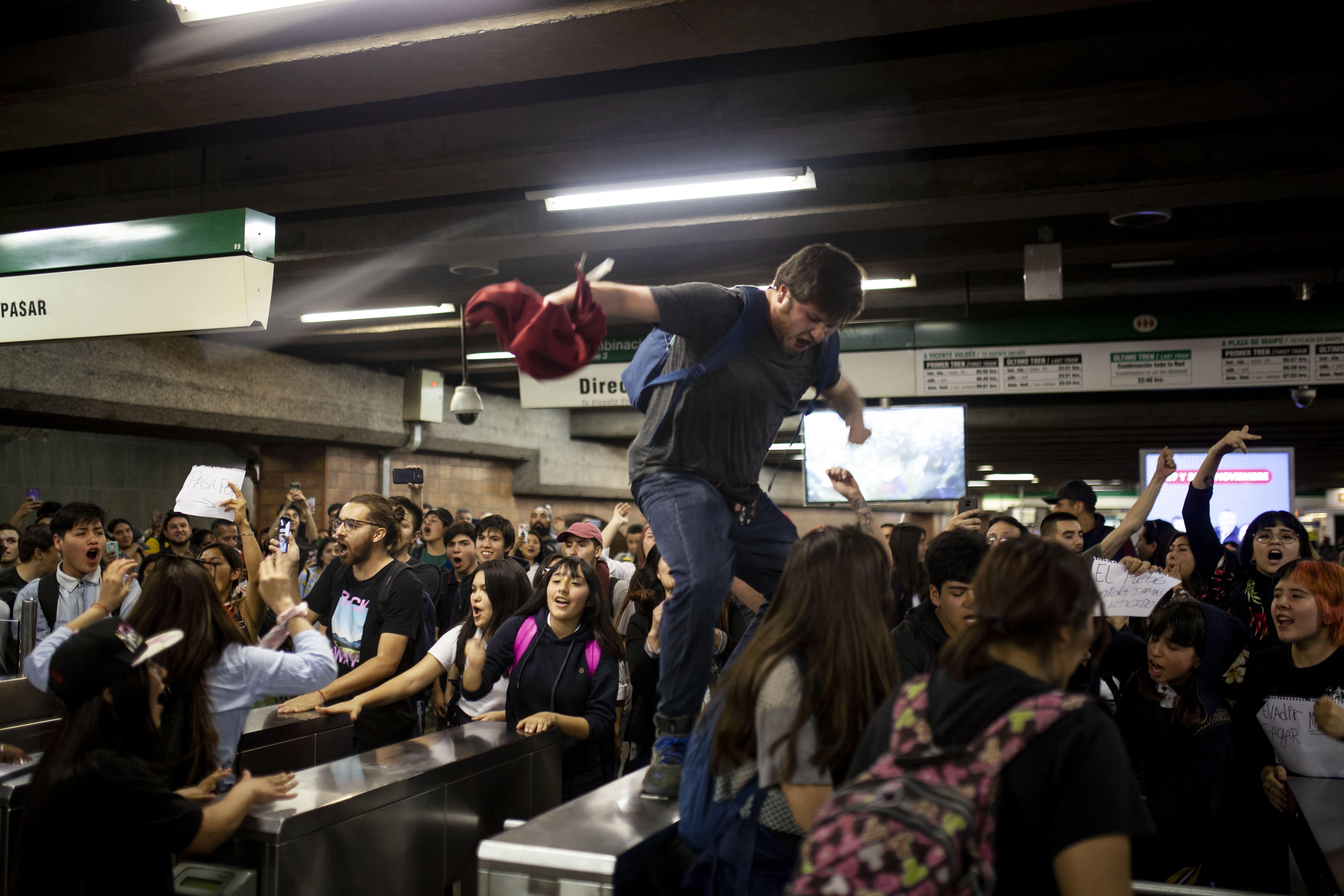 La crisis educativa chilena
