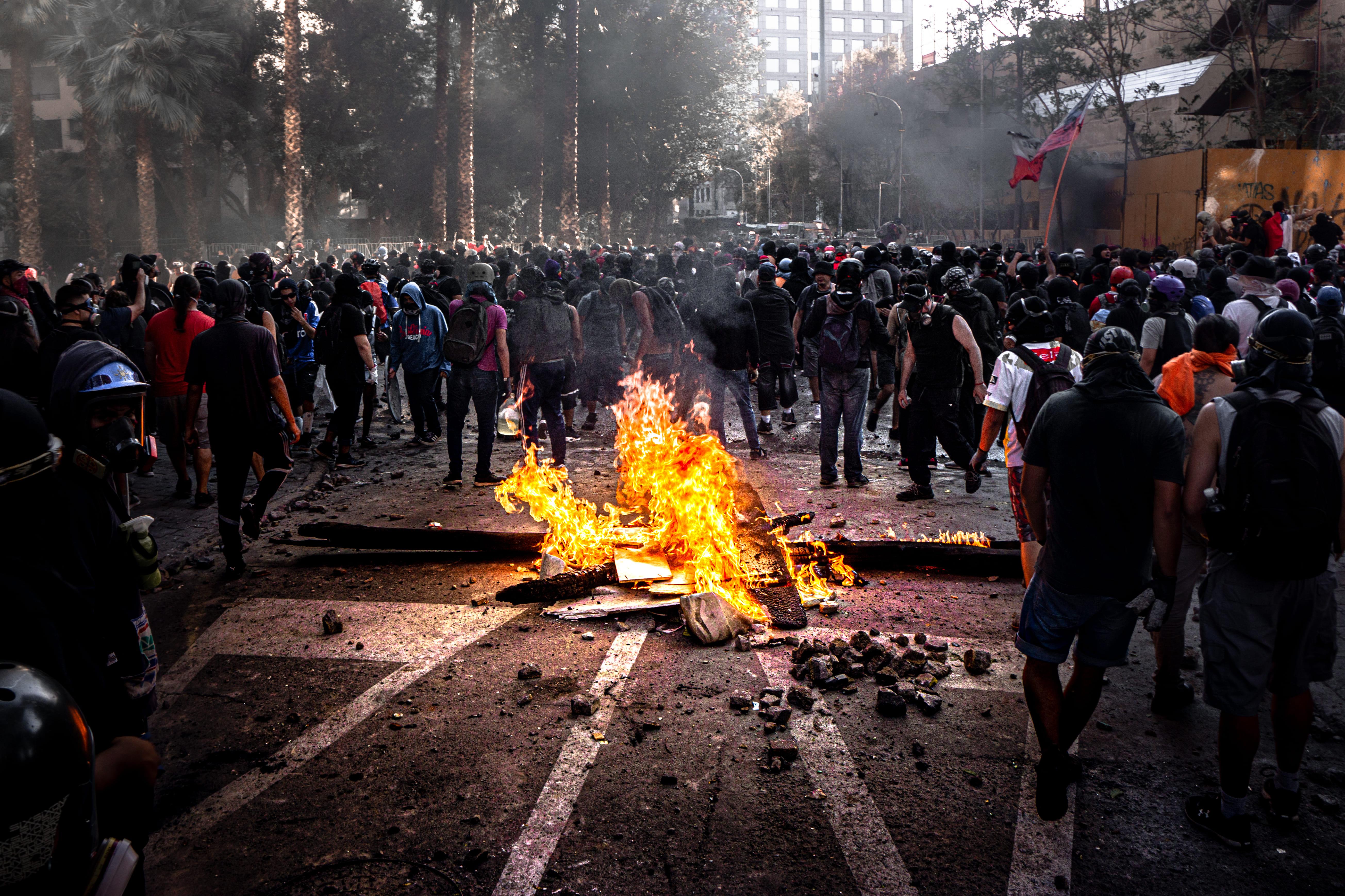 El modelo chileno amenazado, pero aún intacto