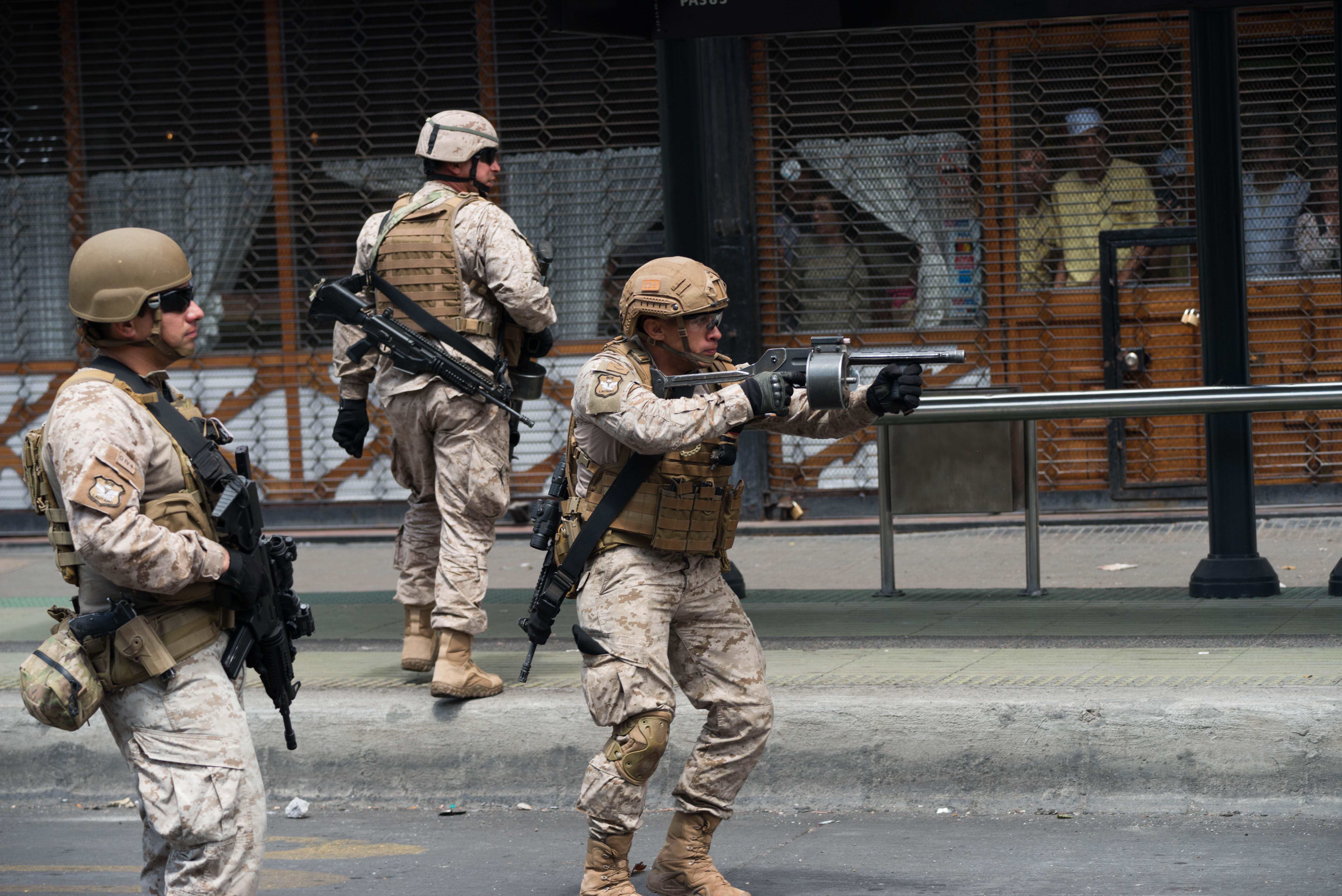 Protesta y Represión en Chile